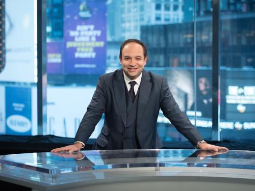 Frank Melloul, CEO of i24News