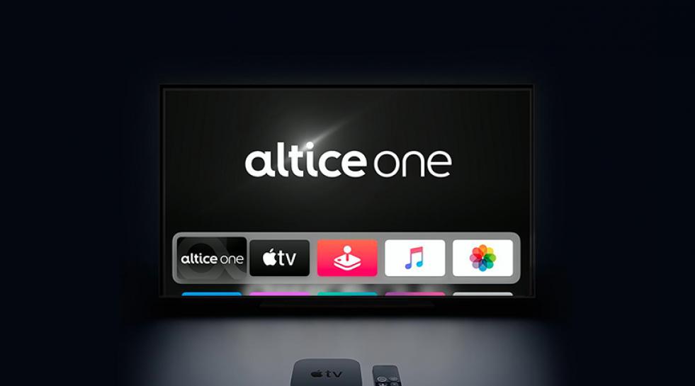 Altice One on Apple TV